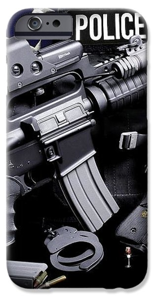 Tuscaloosa Police iPhone Case by Gary Yost
