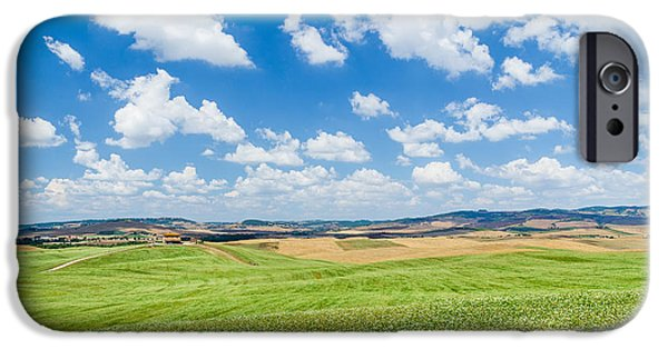 Tuscan Road iPhone Cases - Tuscan Beauty iPhone Case by JR Photography