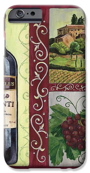 Tuscan Collage 1 iPhone Case by Debbie DeWitt