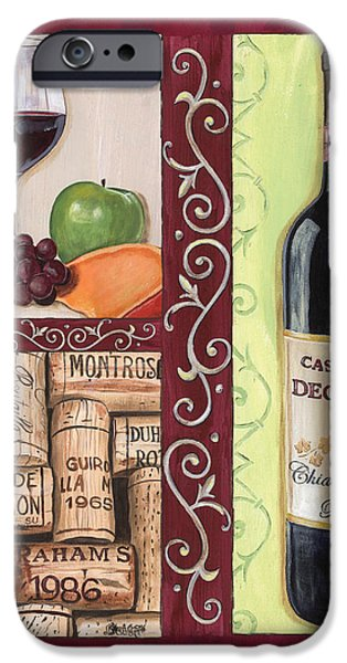 Tuscan Collage 2 iPhone Case by Debbie DeWitt
