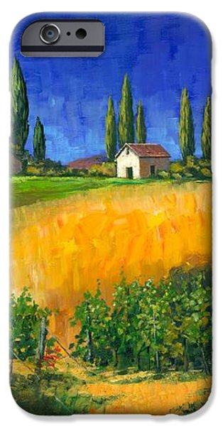 Tuscan Evening iPhone Case by Michael Swanson