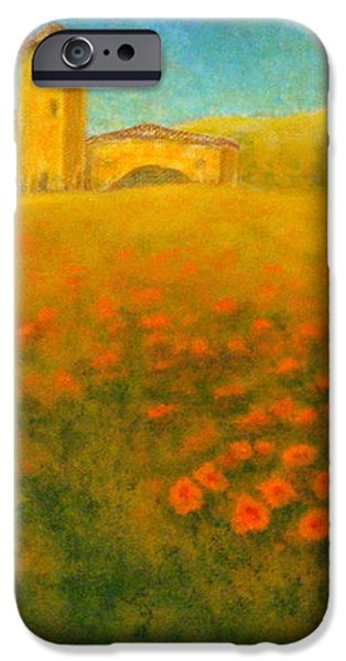 Tuscan Gold 1 iPhone Case by Pamela Allegretto