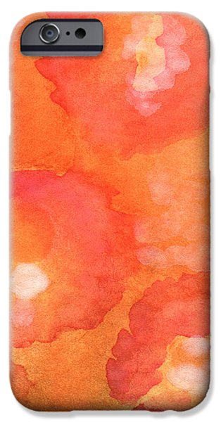 Abstract Flowers iPhone Cases - Tuscan Roses iPhone Case by Linda Woods