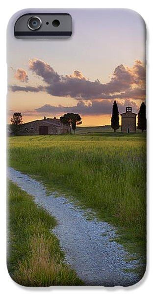 Tuscan Sunset iPhone Case by Brian Jannsen