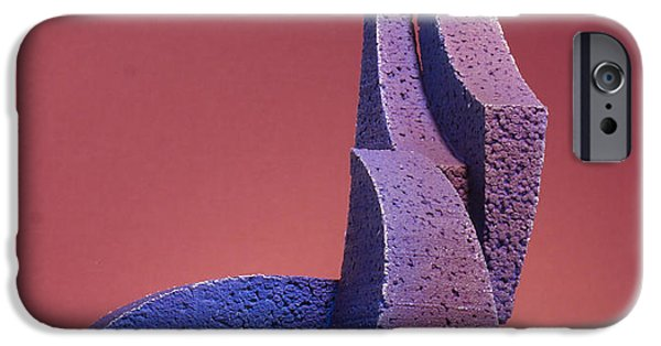 Stainless Steel Sculptures iPhone Cases - Tusk Tusk iPhone Case by Richard Arfsten