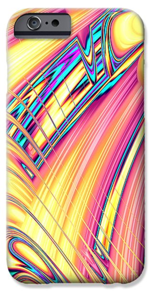 Fractal iPhone Cases - Tutti Frutti iPhone Case by John Edwards