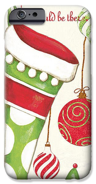 Xmas iPhone Cases - Twas the Night... iPhone Case by Debbie DeWitt