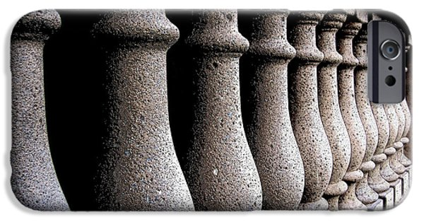 Cemetary iPhone Cases - Twelve Pillars iPhone Case by Glenn McCarthy Art and Photography