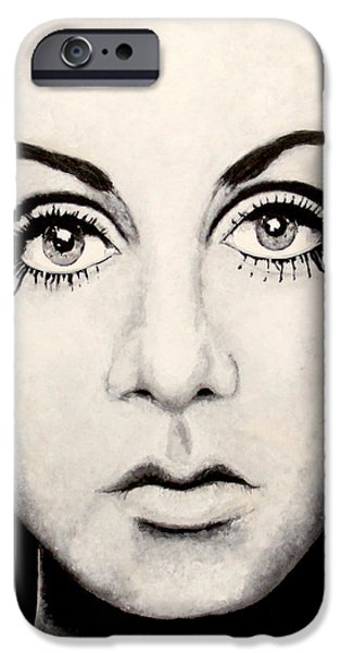 Twiggy iPhone Case by Austin Angelozzi
