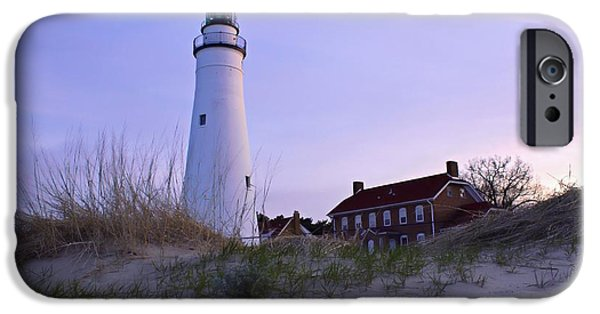 Great Tapestries - Textiles iPhone Cases - Twilight at the Beach iPhone Case by Flora Ehrlich
