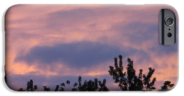 A Summer Evening iPhone Cases - Twilight Beauty iPhone Case by Sonali Gangane