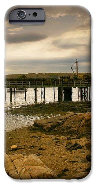 Twilight Cape Porpoise Maine iPhone Case by Bob Orsillo