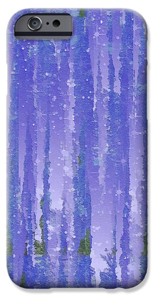 """texas Artist"" iPhone Cases - Twilight iPhone Case by Wendy J St Christopher"