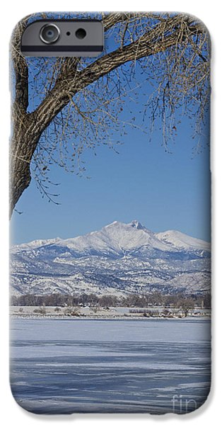 Epic iPhone Cases - Twin Peaks Winter Portrait View iPhone Case by James BO  Insogna