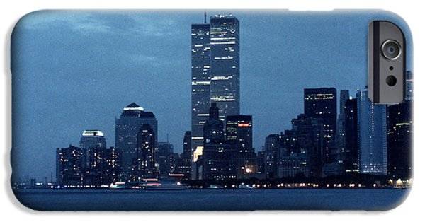 Twin Towers Nyc iPhone Cases - Twin Towers iPhone Case by George DeLisle