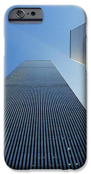Twin Towers iPhone Case by Jon Neidert
