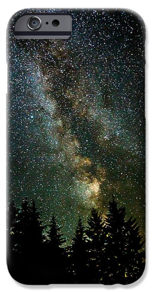 Twinkle Twinkle A Million Stars D1951 iPhone Case by Wes and Dotty Weber