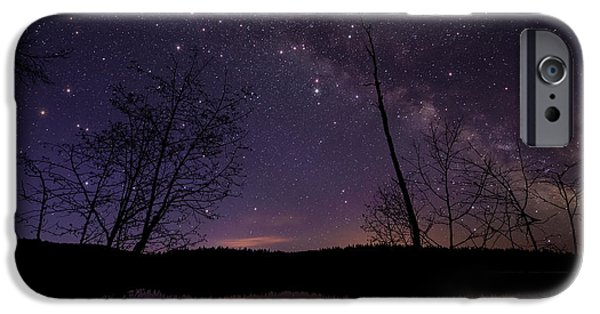Constellations iPhone Cases - Twinkle Twinkle iPhone Case by James Wheeler