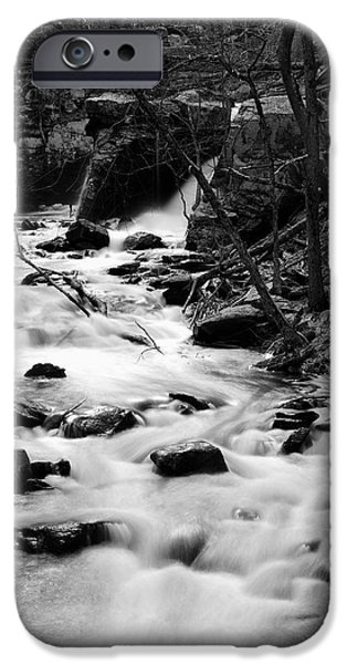 Central Massachusetts iPhone Cases - Twist and Turn iPhone Case by Luke Moore