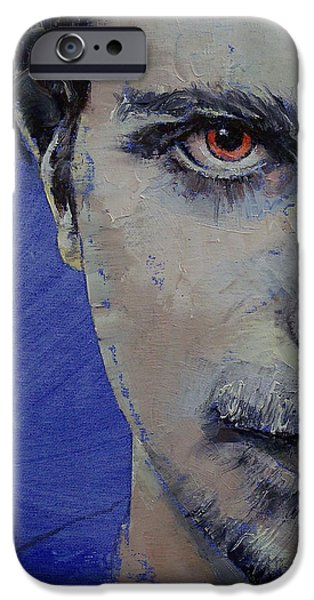 Michael iPhone Cases - Twisted iPhone Case by Michael Creese