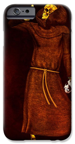 Two Faces of Death iPhone Case by Bob Orsillo