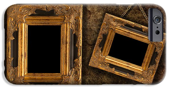 Rectangular iPhone Cases - Two Hanging Frames iPhone Case by Amanda And Christopher Elwell