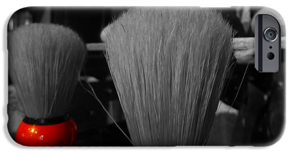 Francis Ford Coppola iPhone Cases - A brush with Colour iPhone Case by Fabien White