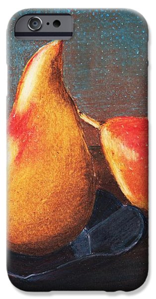 Two Pears iPhone Case by Anastasiya Malakhova