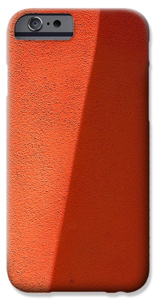 Sienna iPhone Cases - Two Shades of Shade iPhone Case by Peter Tellone