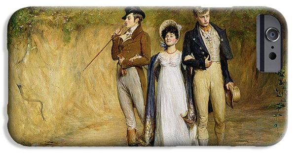Dating iPhone Cases - Two Strings to her Bow iPhone Case by John Pettie
