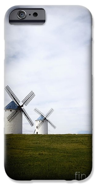 Don Quixote iPhone Cases - Two to Battle iPhone Case by Margie Hurwich