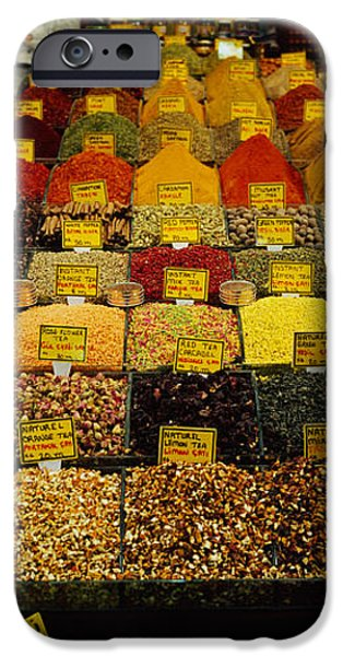 Adults Only iPhone Cases - Two Vendors Standing In A Spice Store iPhone Case by Panoramic Images