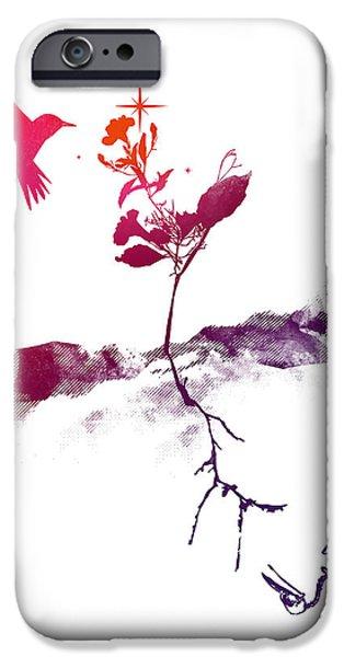 Two world iPhone Case by Budi Satria Kwan