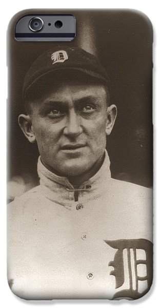 Ty Cobb 1915 iPhone Case by Unknown