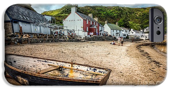 North Wales Digital iPhone Cases - Ty Coch Inn iPhone Case by Adrian Evans