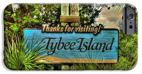 Tybee Island iPhone Cases - Tybee Island iPhone Case by Reid Callaway
