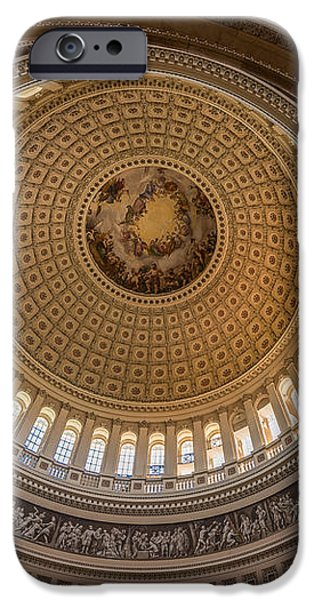U S Capitol Rotunda iPhone Case by Steve Gadomski