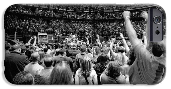 Mullen iPhone Cases - U2-Crowd-GP13 iPhone Case by Timothy Bischoff
