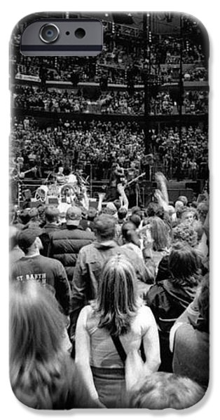 U2-Crowd-GP13 iPhone Case by Timothy Bischoff