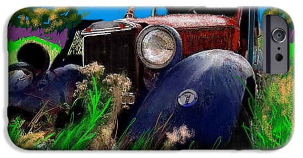 Final Resting Place iPhone Cases - Ugly face iPhone Case by Craig Nelson