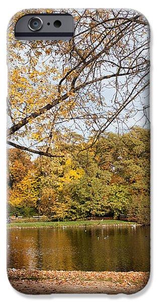 Ujazdowski Park in Warsaw iPhone Case by Artur Bogacki