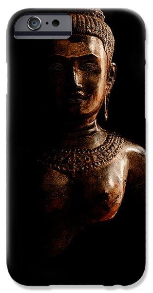 Hindu Goddess iPhone Cases - Uma iPhone Case by Weston Westmoreland
