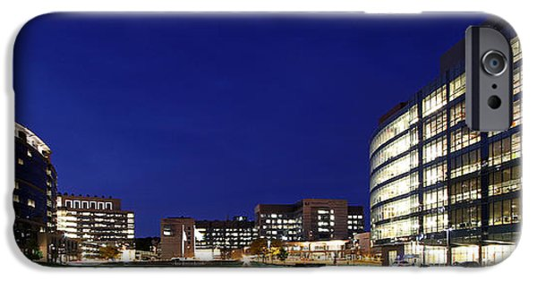 Central Massachusetts iPhone Cases - UMass Memorial Medical Center  iPhone Case by Juergen Roth