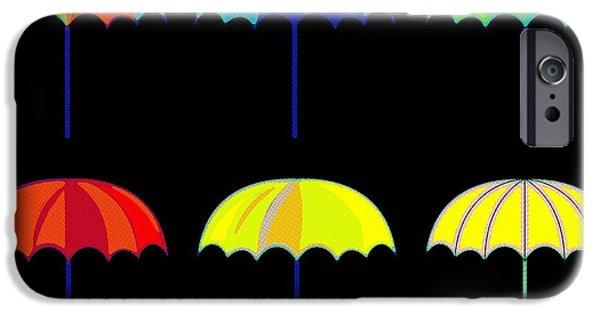 Rihanna iPhone Cases - Umbrella Ella Ella Ella iPhone Case by Florian Rodarte