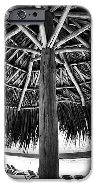 Umbrella View iPhone Case by John Rizzuto