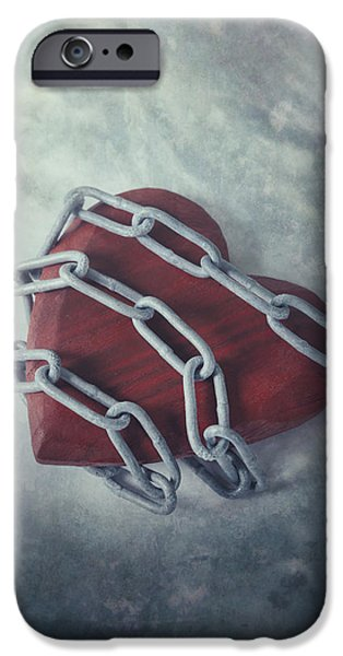 Conceptual iPhone Cases - Unchain My Heart iPhone Case by Joana Kruse