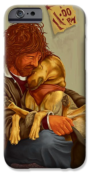 Women Together iPhone Cases - Unconditional Love iPhone Case by Hans Neuhart