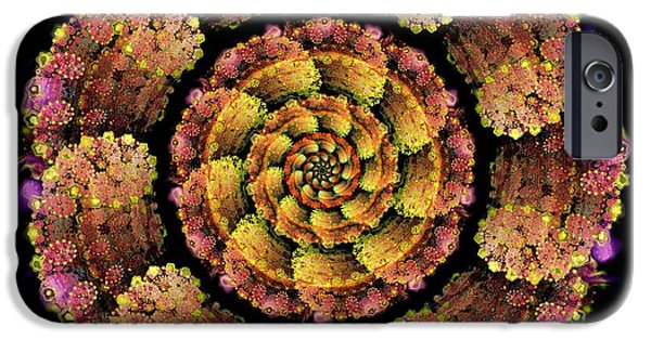 Buddhism Mixed Media iPhone Cases - Unconventional Experience iPhone Case by Anastasiya Malakhova