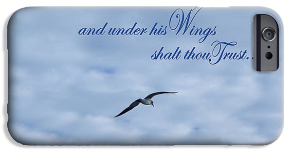 Most Sold iPhone Cases - Under His Wings iPhone Case by Larry Bishop