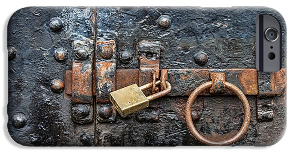 Jeff Swanson iPhone Cases - Under Lock and Key iPhone Case by Jeff Swanson